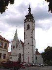 Pisek church